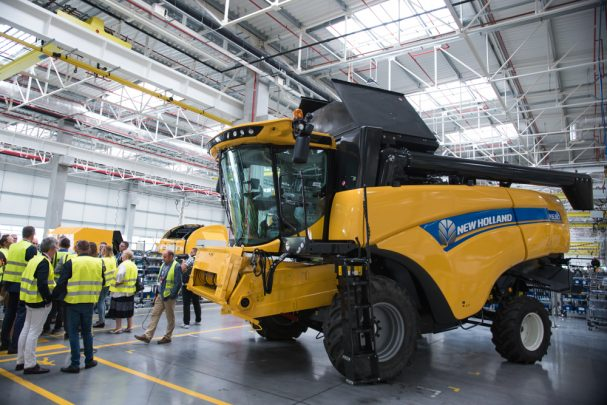 Fabryka kombajnów New Holland 7